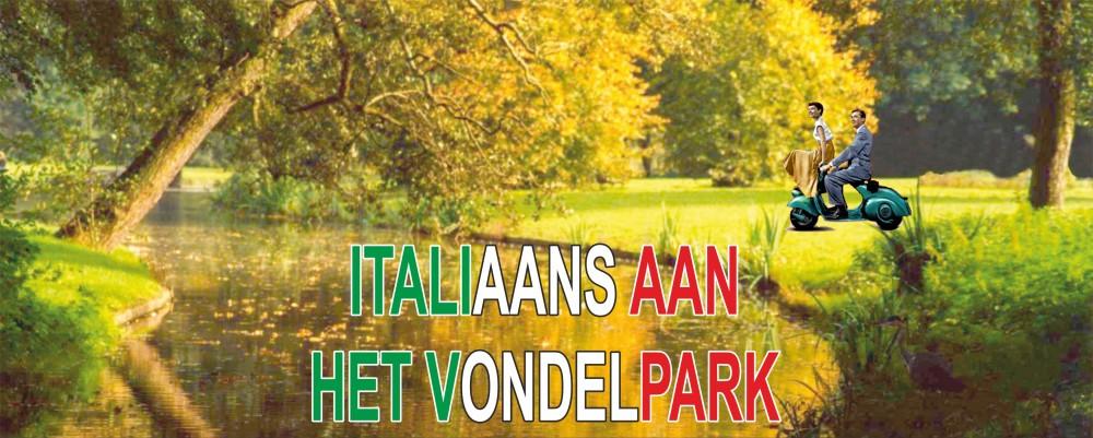 Italiaans aan het Vondelpark